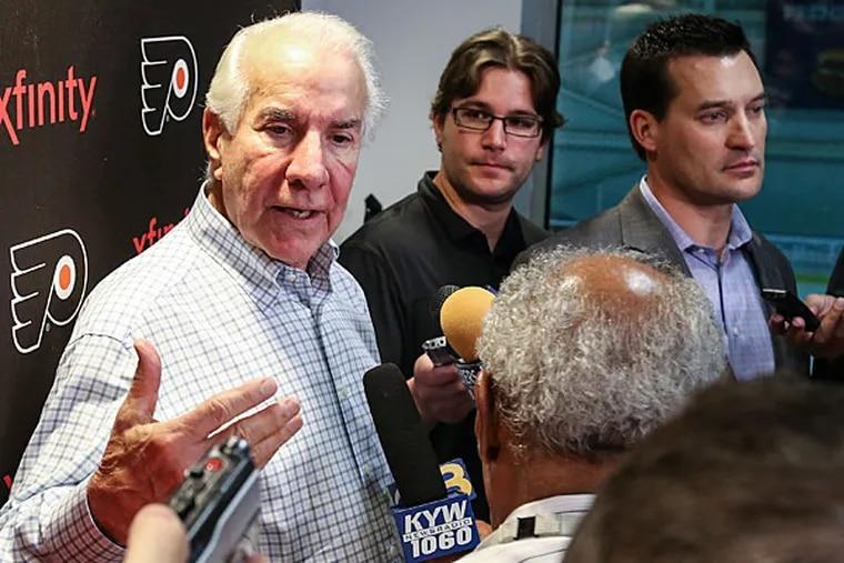 Flyers chairman Ed Snider. (Steven M. Falk/Staff file photo)