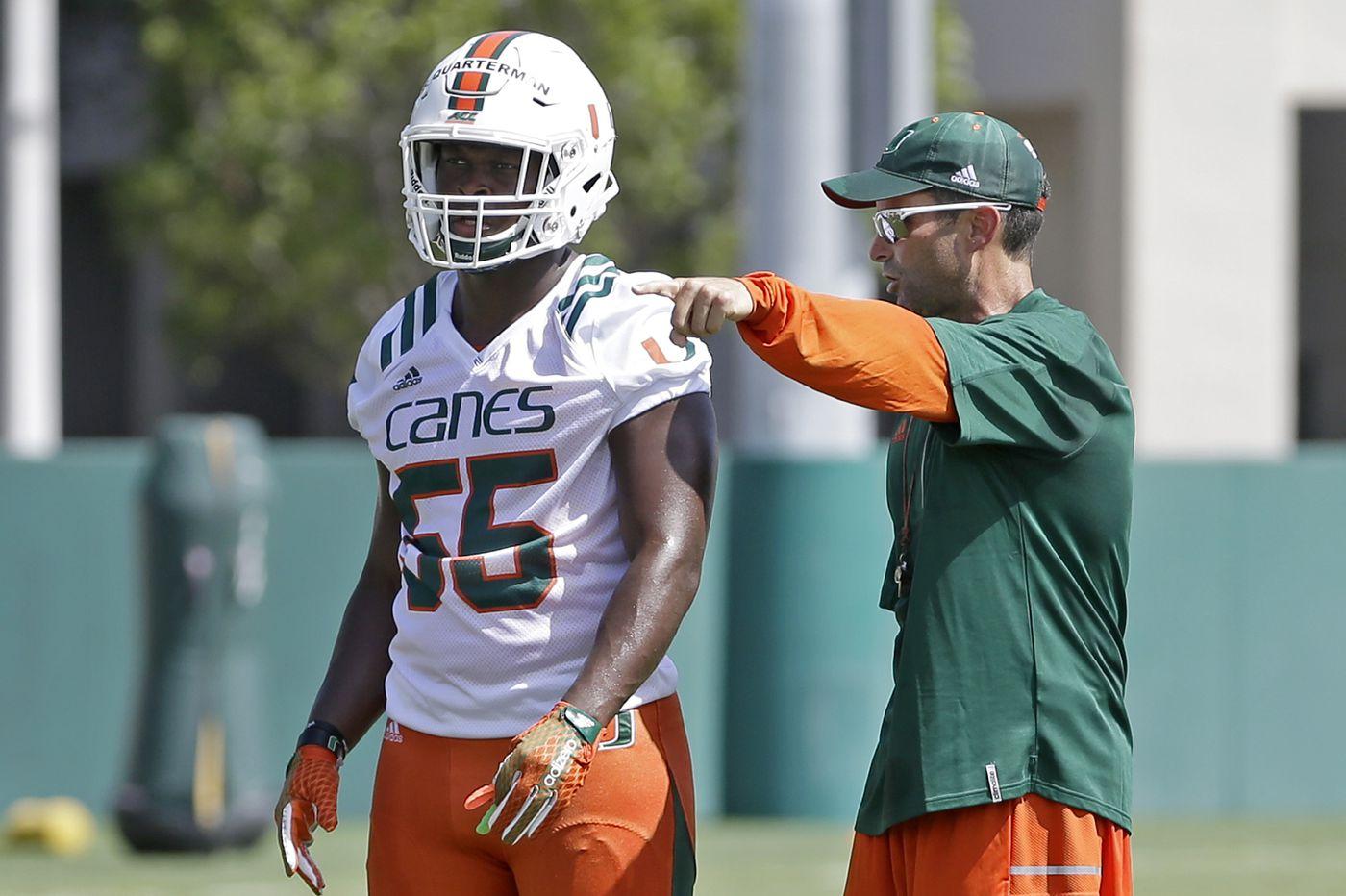 Temple hires Miami's Manny Diaz as its football coach