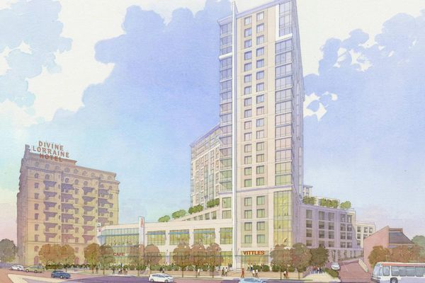 Aldi sets sights on Center City shoppers with store below apartments planned near Divine Lorraine