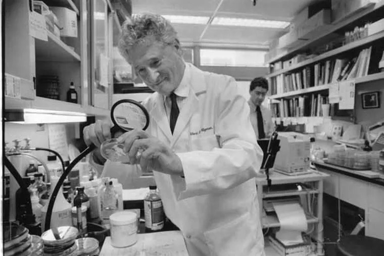 1987 File photo: Dr. Albert Kligmann, professor of Dermatology at the University of Pennsylvania's Medical School.