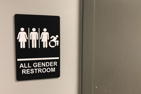 Philadelphia City Hall has one gender-neutral bathroom, and it's hard to find. Under new legislation, that would change.