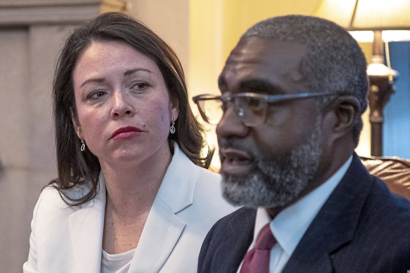 Pittsburgh official, husband arraigned in Detroit hotel case