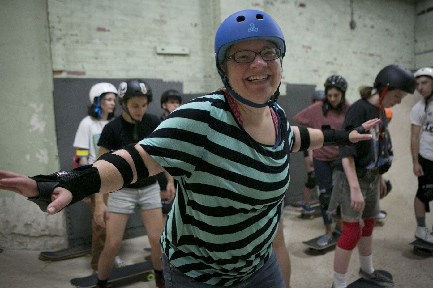 No, you're not too old to skate: West Philly skatepark offers adult classes