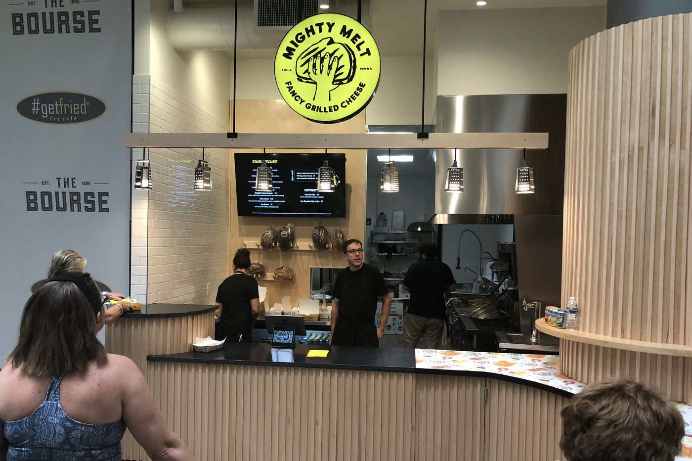 List of vendors at Bourse Food Hall