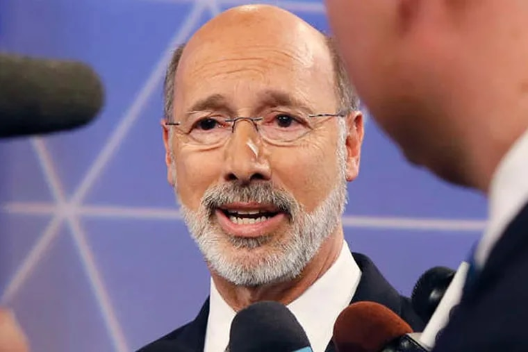 Democratic gubernatorial candidate Tom Wolf. (AP Photo)