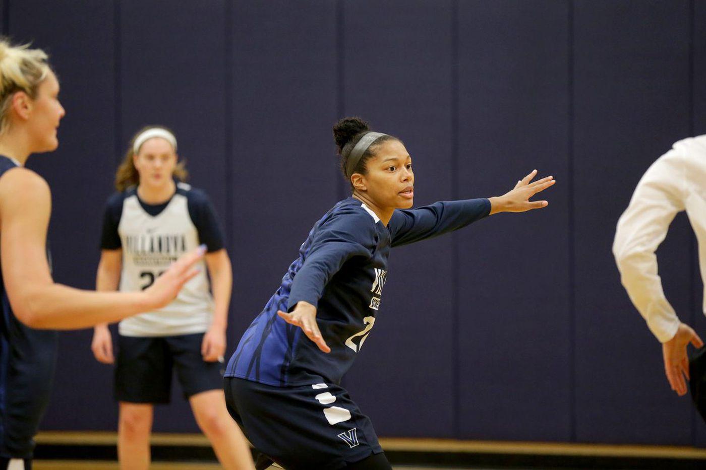 Villanova basketball player Jannah Tucker overcame a nightmare and kept playing