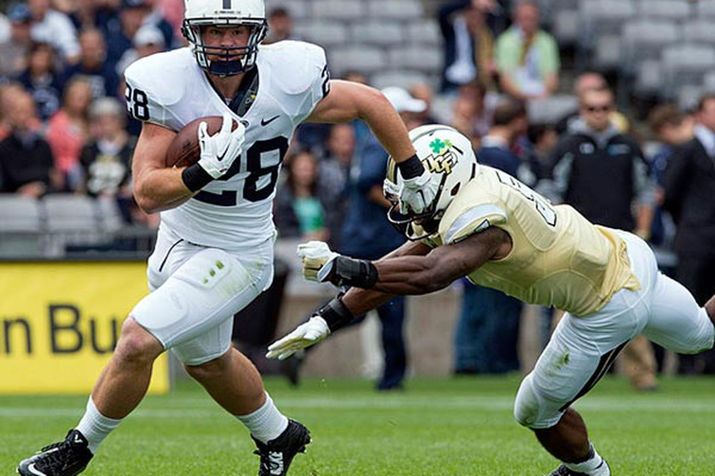 Penn State tackle promises an improved running game