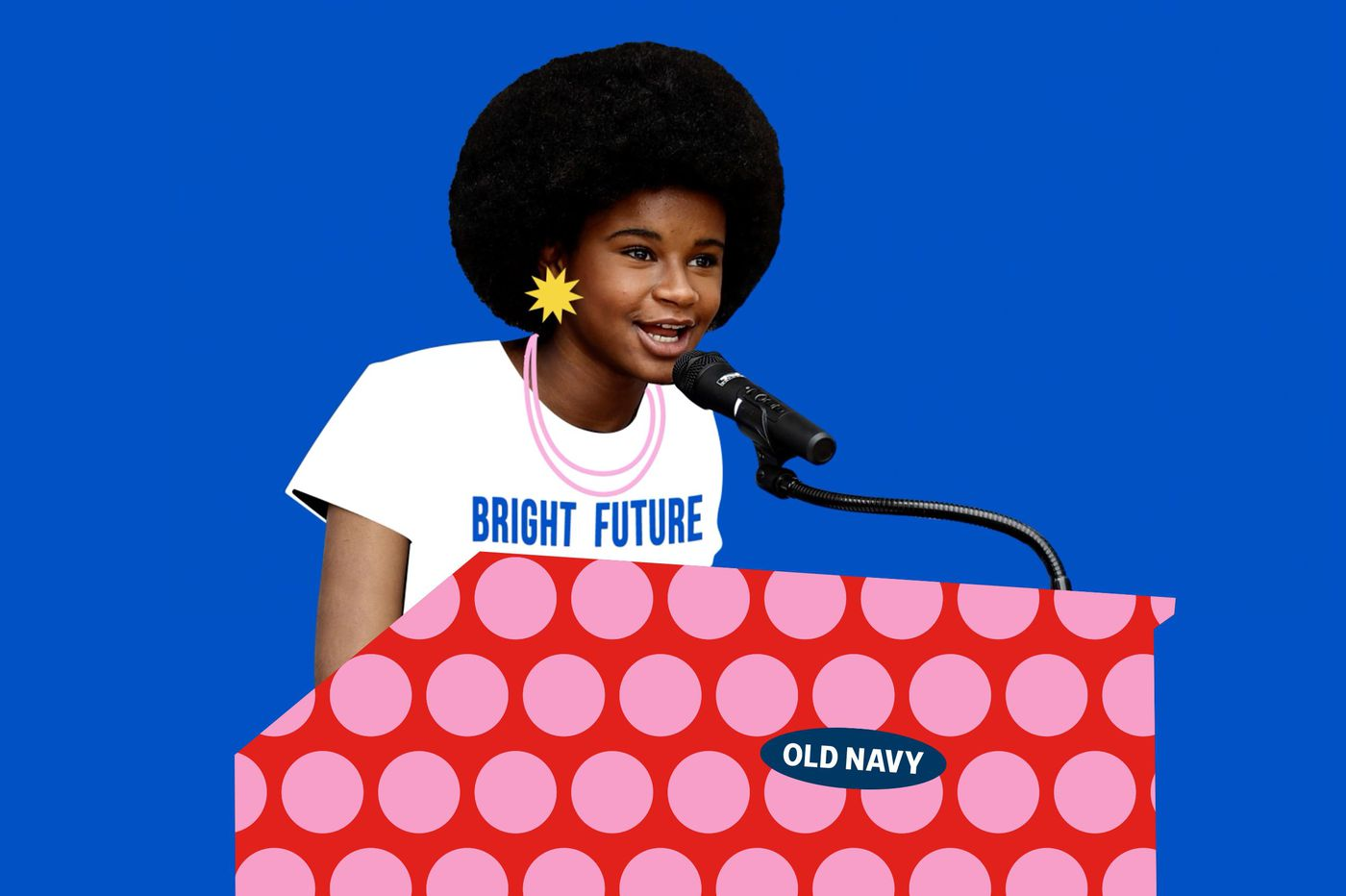 Philly-born activist Marley Dias is amplifying the voices of teenagers in an Old Navy ad campaign