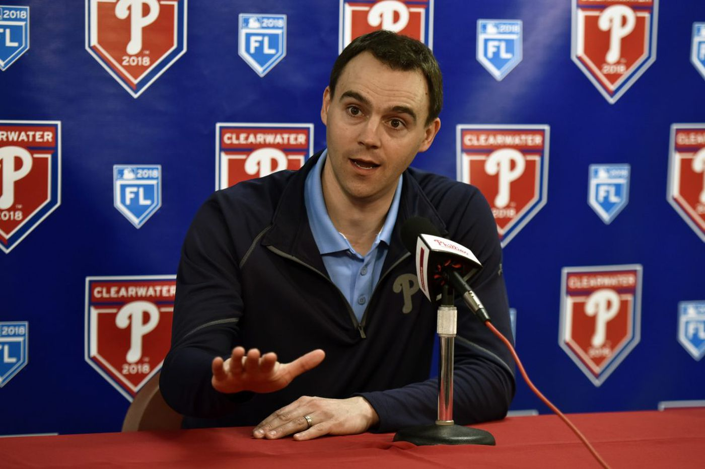 Phillies are 'open' to adding a starting pitcher