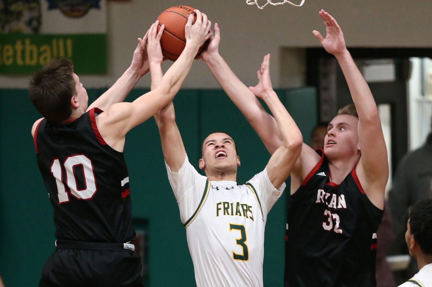Archbishop Ryan crashes the party in the Philadelphia Catholic League boys' basketball semifinals