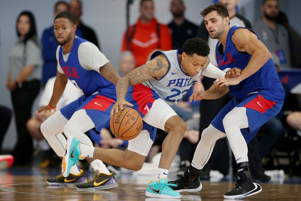 Sixers coach Brett Brown trying to keep bench players happy while working on best rotation