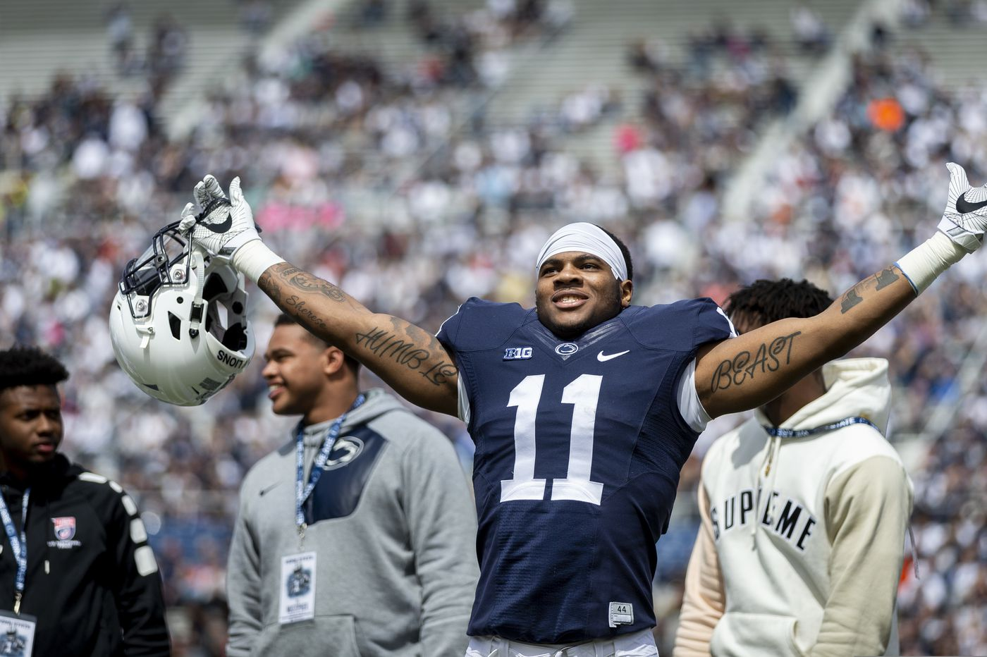 Penn State's Micah Parsons gathers numerous postseason honors but says it won't change him