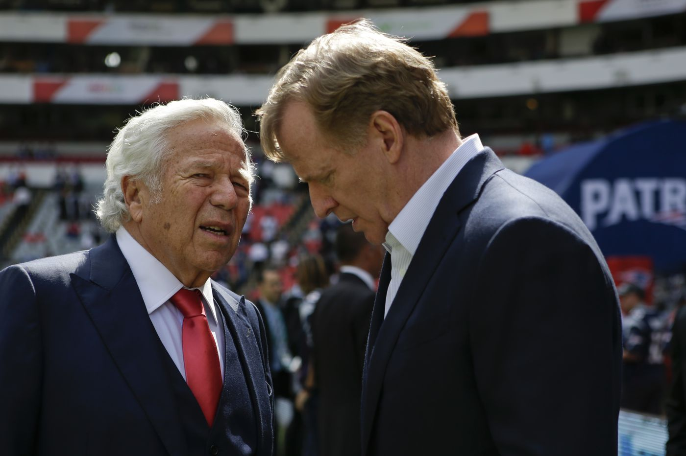 Police: Patriots owner Robert Kraft went to spa day of AFC championship game