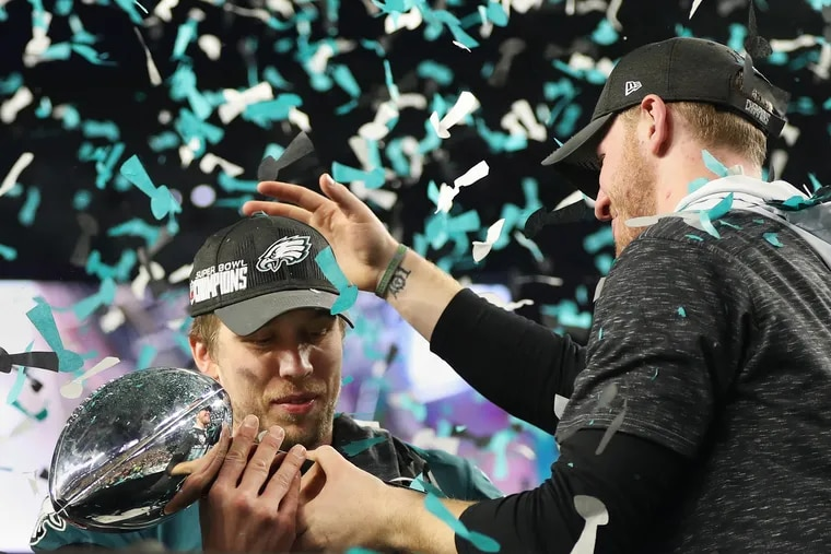 Nick Foles will always be the quarterback that led the Eagles to their first Super Bowl win, but Carson Wentz is the team's future.