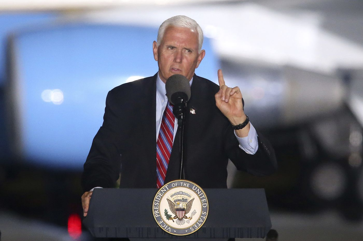 Trump aide says 'we're not going to control the pandemic' as outbreak spreads among Pence's staff