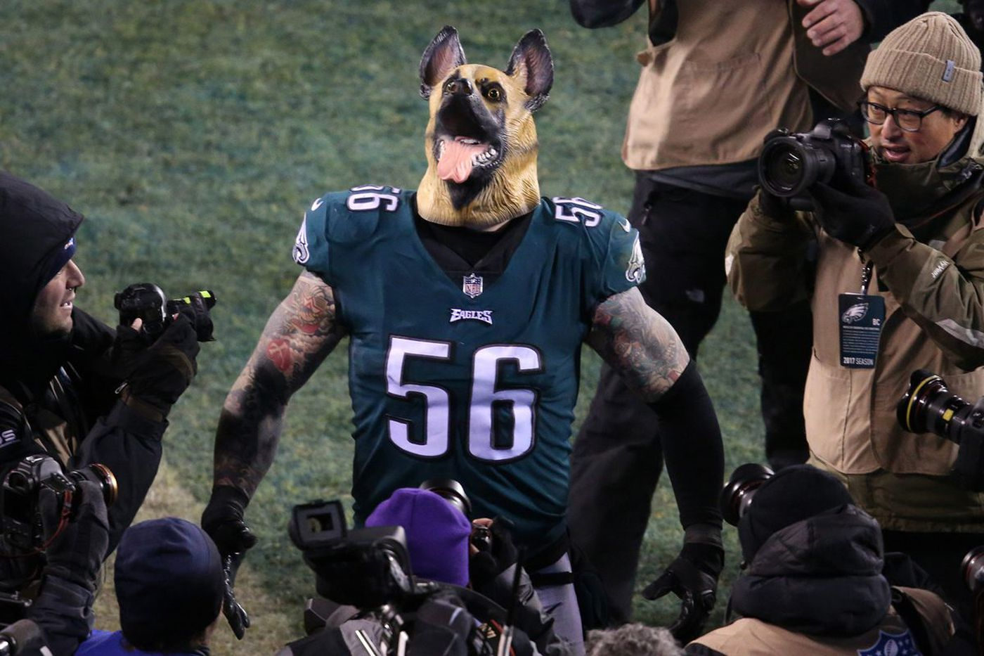 Eagles underdog masks quickly sell out on Amazon