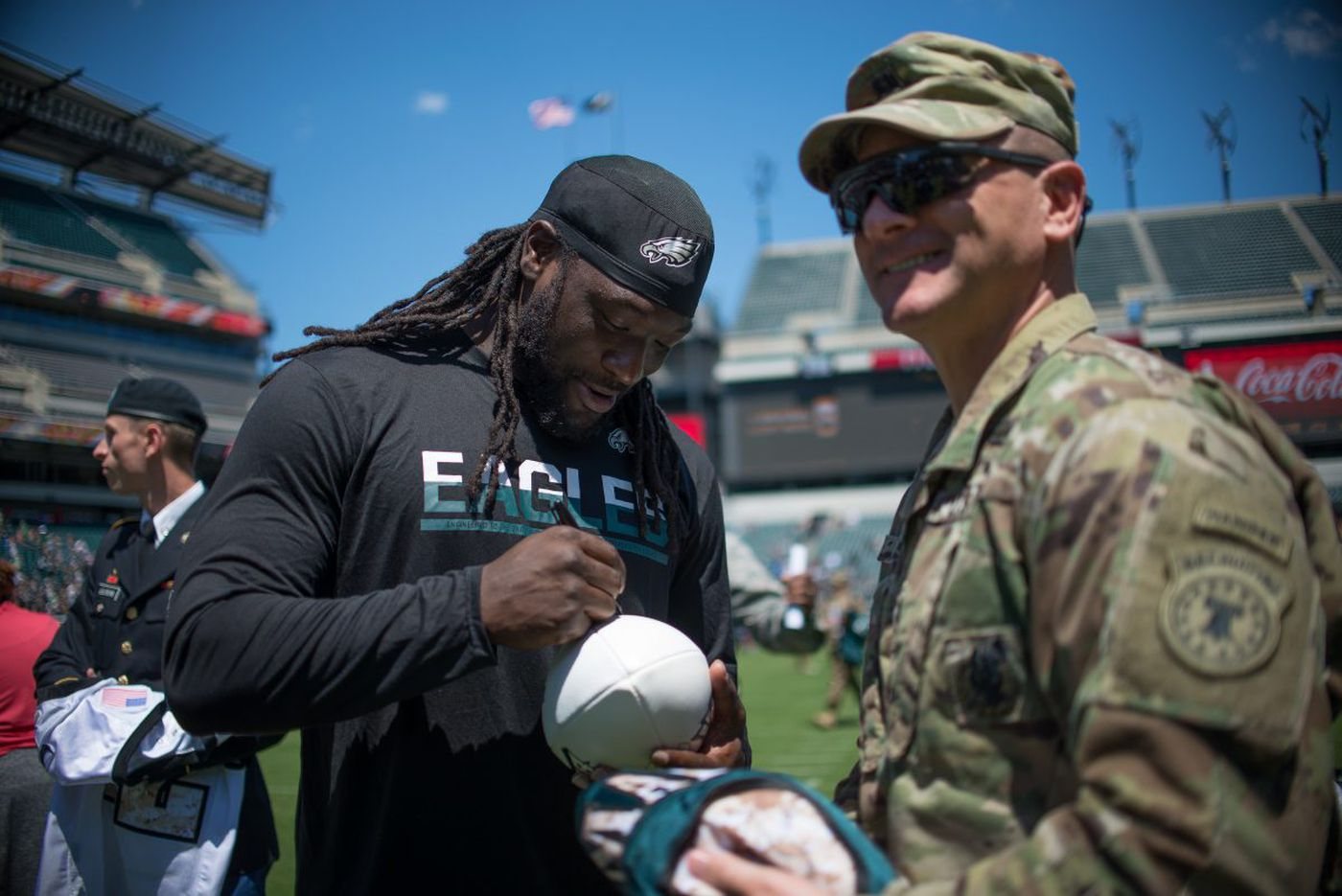 Expect LeGarrette Blount to add tough inside running - and TDs