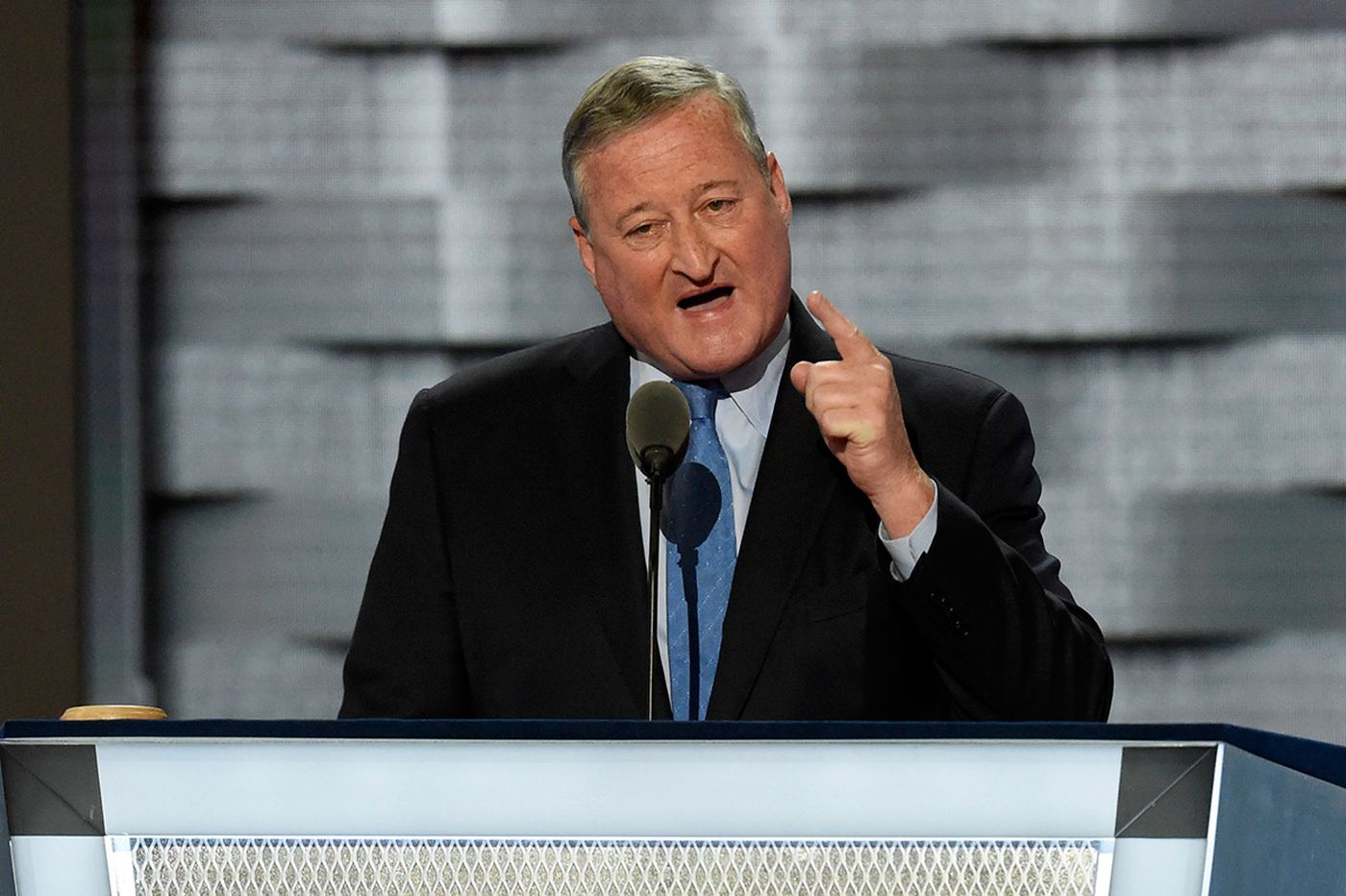Three-minute history lesson: Mayor Kenney uses DNC spotlight to liken Trump & Co. to 'Know Nothings'