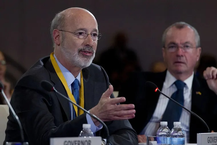 Gov. Wolf at the National Governors' Association winter meeting in Washington this February.