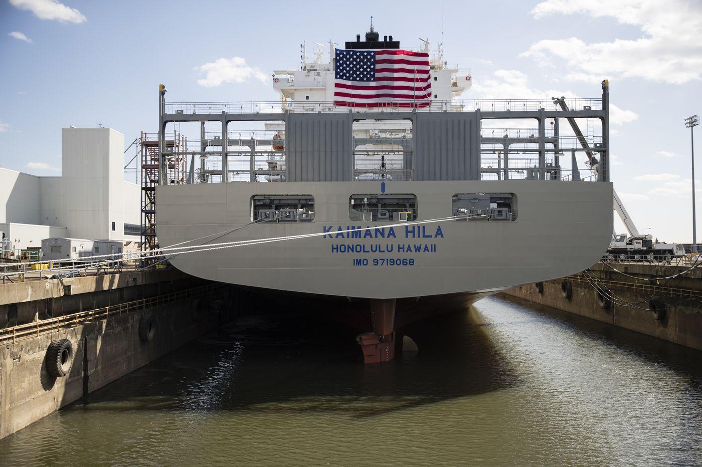 The Jones Act is protecting U.S. shipyards to death | Opinion