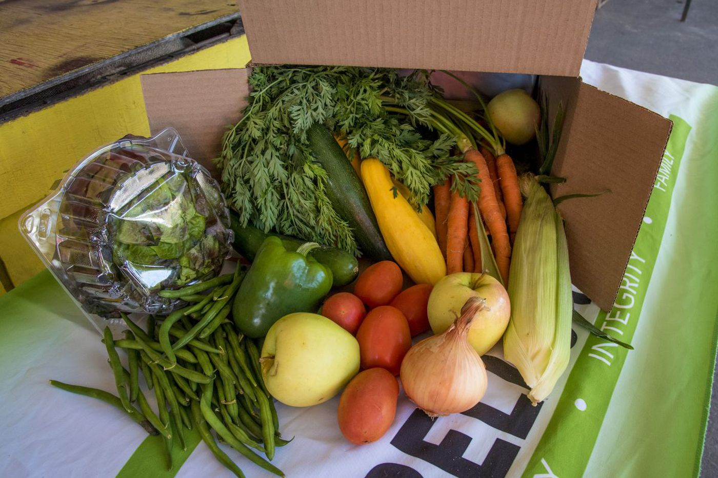 Call it the Amazon effect: A farmers market delivered in a box
