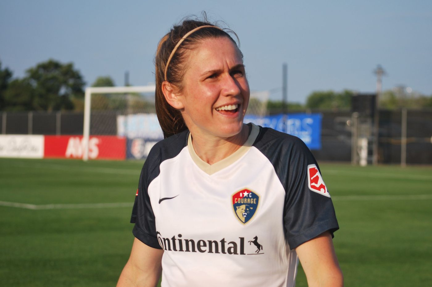 Soccer star Heather O'Reilly back home and happy to just fit in