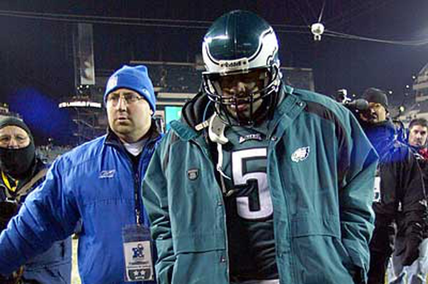 Sports in Brief: McNabb: 'I belong in Hall'