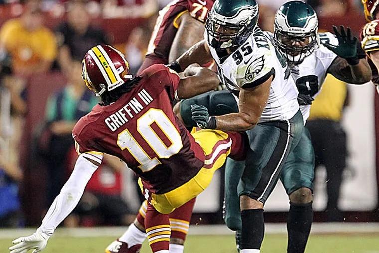 Eagles linebacker Mychal Kendricks. (Yong Kim/Staff Photographer)