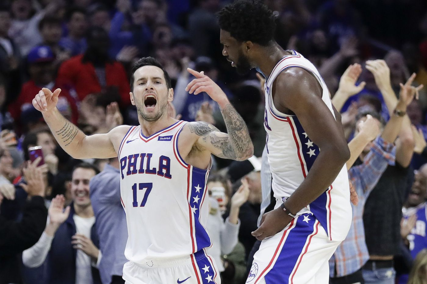 Sixers hold off Magic behind JJ Redick's heroics off the bench, Joel Embiid's 32 points