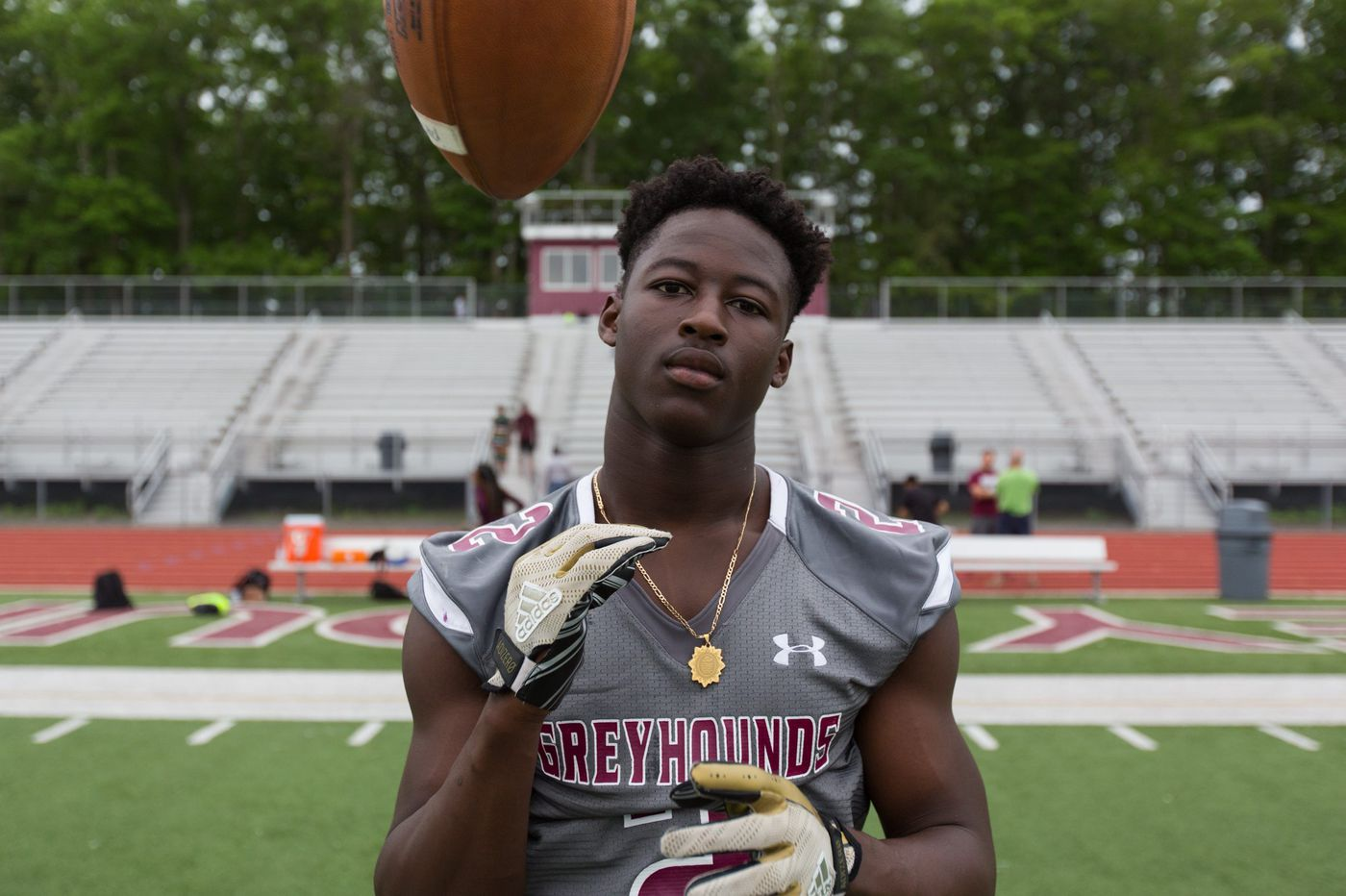 Mohamed Toure is helping turn around Pleasantville football