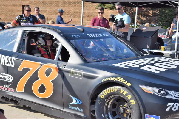 New technology allows spinal cord patients to drive a NASCAR race car