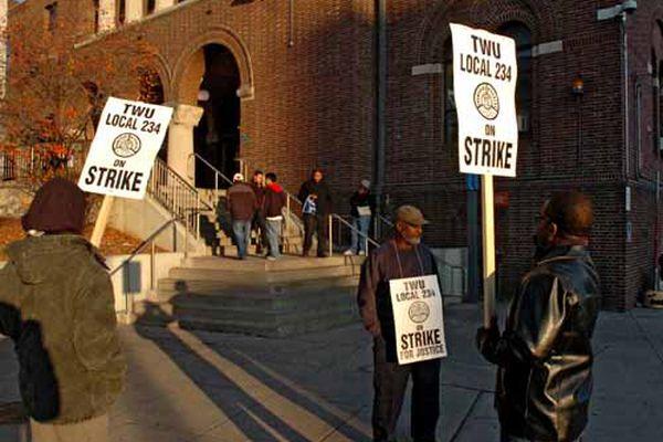 SEPTA Strike Scenes
