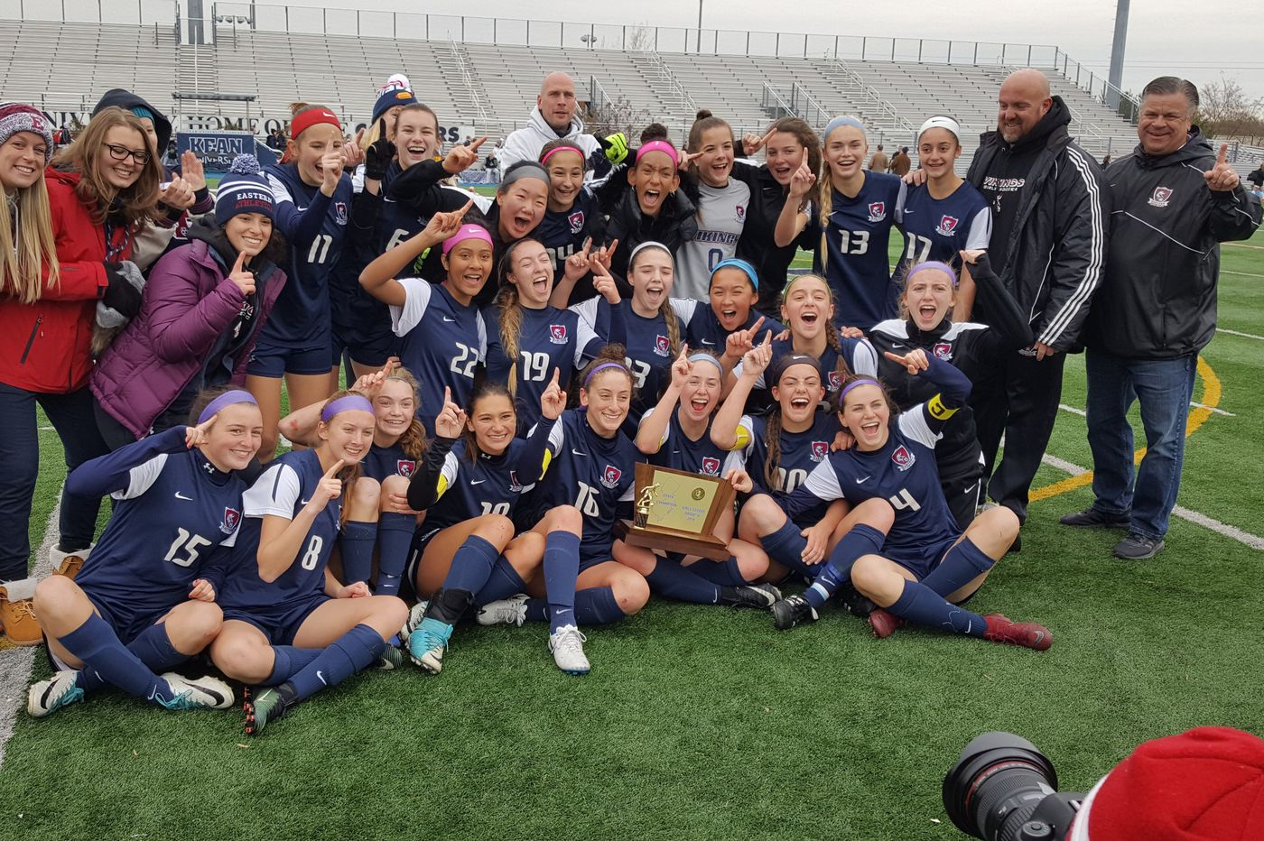 Eastern girls capture state soccer title on Kelli McGroarty's goal