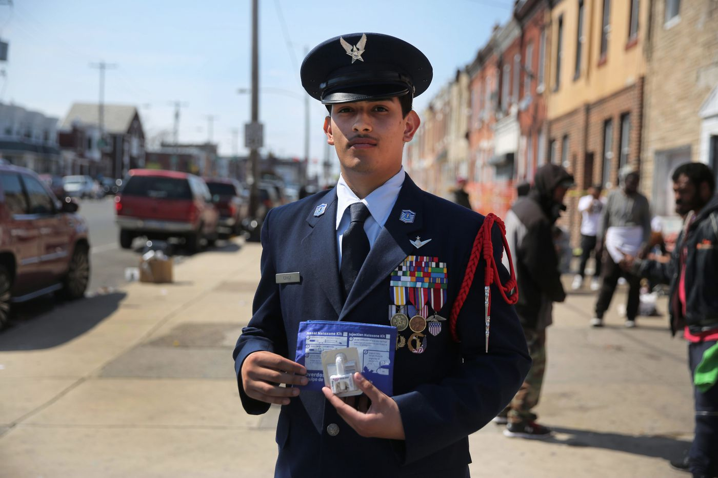 When this ROTC cadet, 17, saw an overdose victim, he knew: 'I need to do something' | Mike Newall
