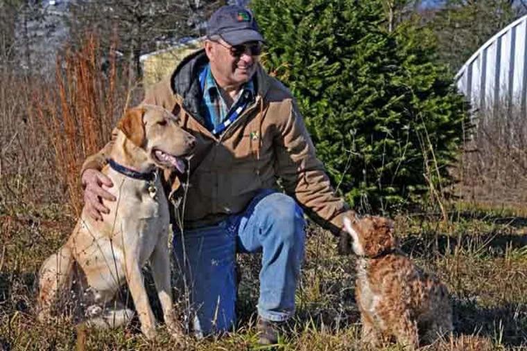 Steve Jany at Rustin Farms in West Windsor, NJ on Dec. 19, 2012.  APRIL SAUL / Staff Photographer
