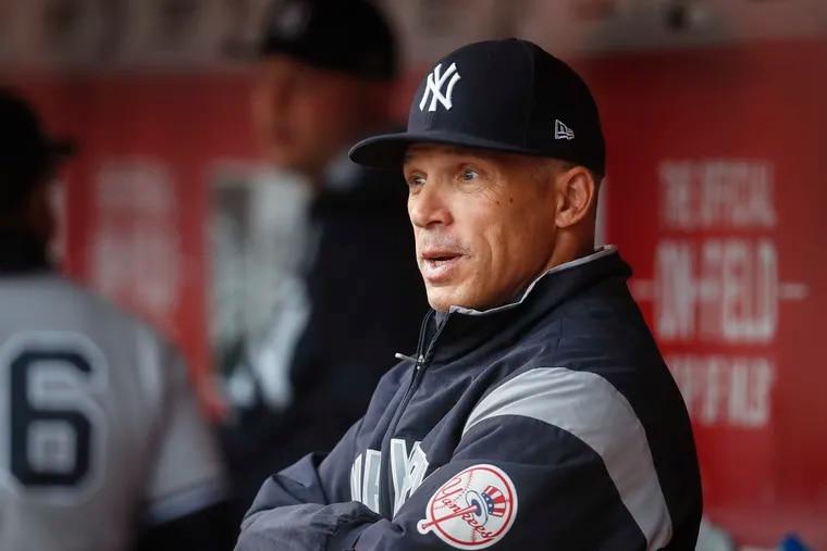 Joe Girardi, new Phillies manager