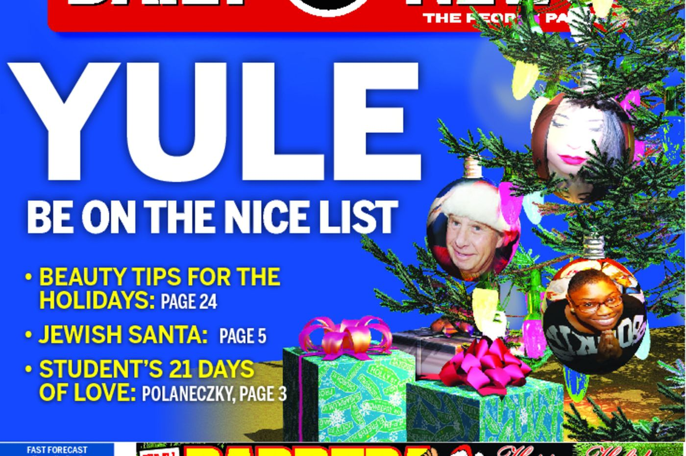 Dailynews Monthly Covers 12/24/14