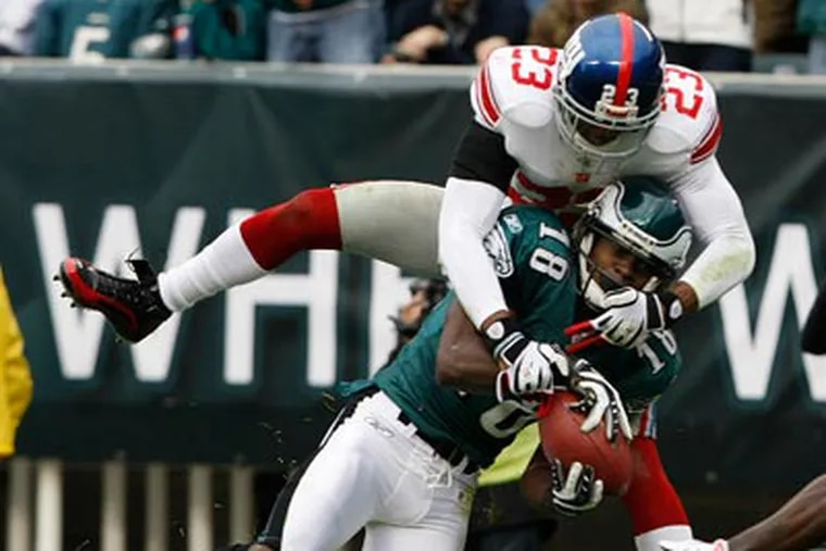 The Eagles dominated the Giants when they met in Week 8.  They will meet again on Sunday in the Meadowlands. (Michael S. Wirtz / Staff Photographer)