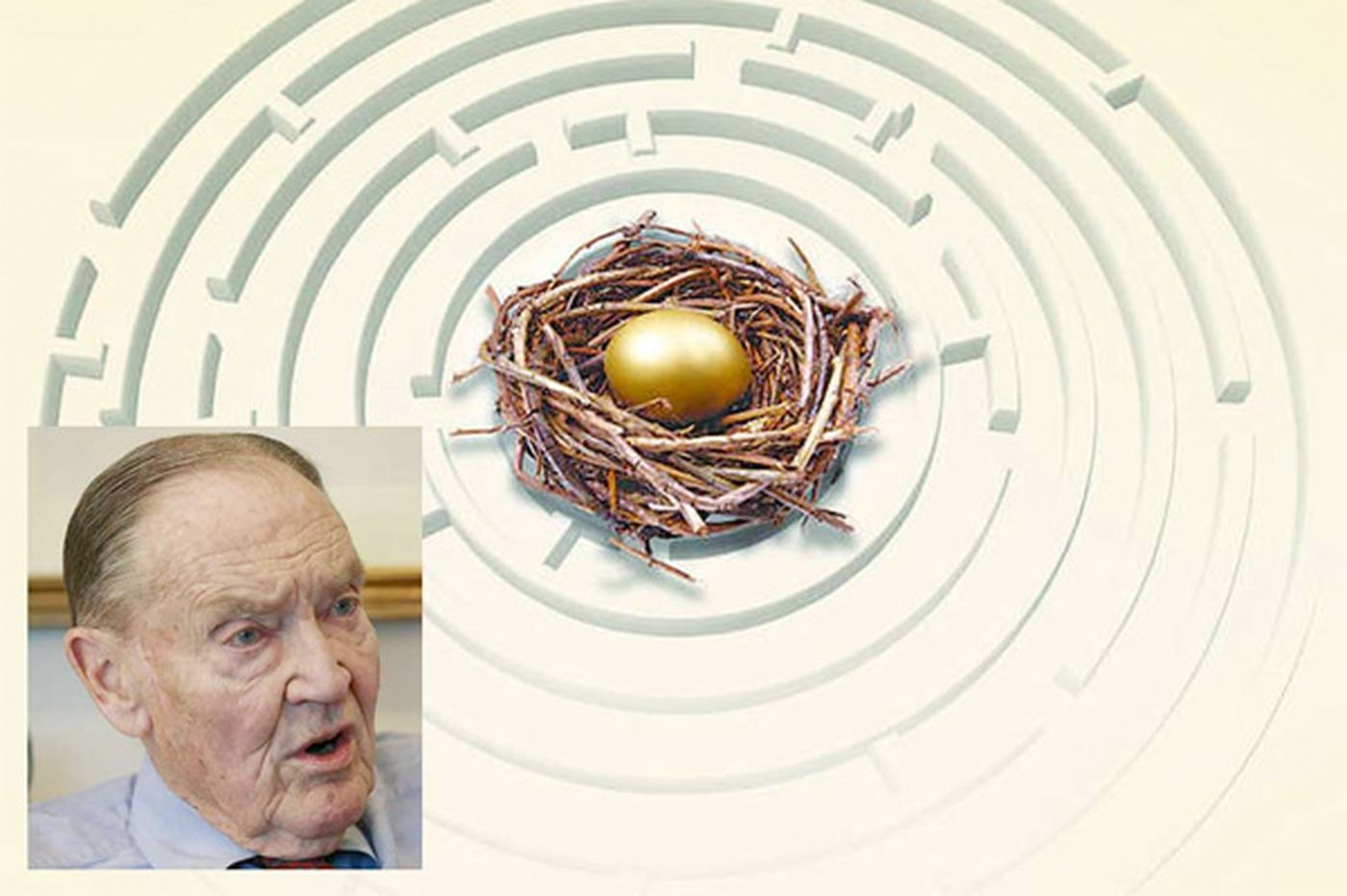 Bogle's view: Retirement system is broken
