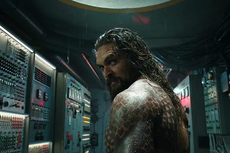 Jason Momoa in 'Aquaman.' Warner Bros.
