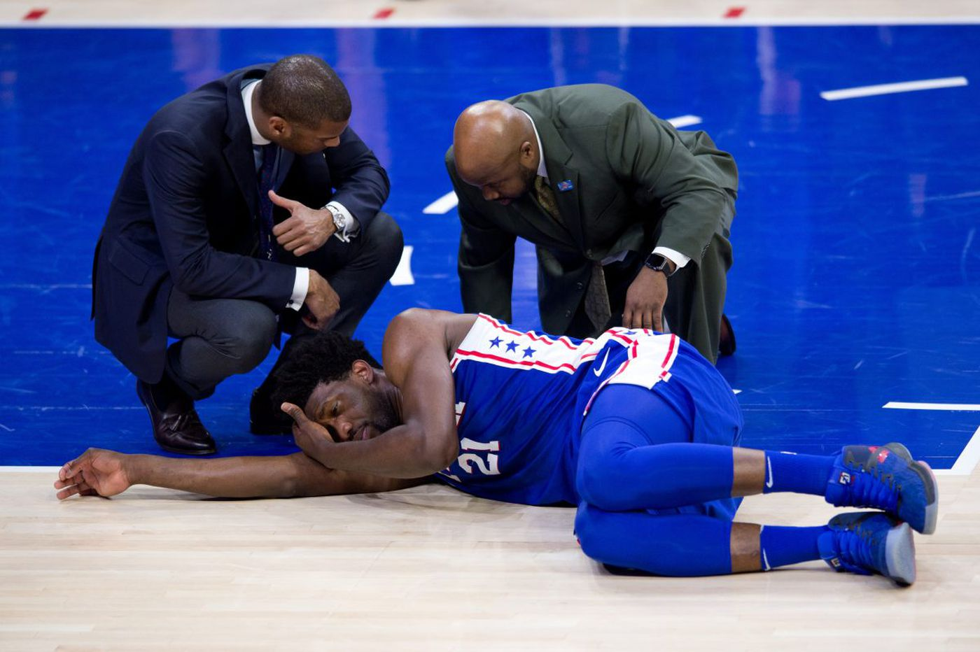 Sixers' Joel Embiid to undergo surgery after eye injury, concussion