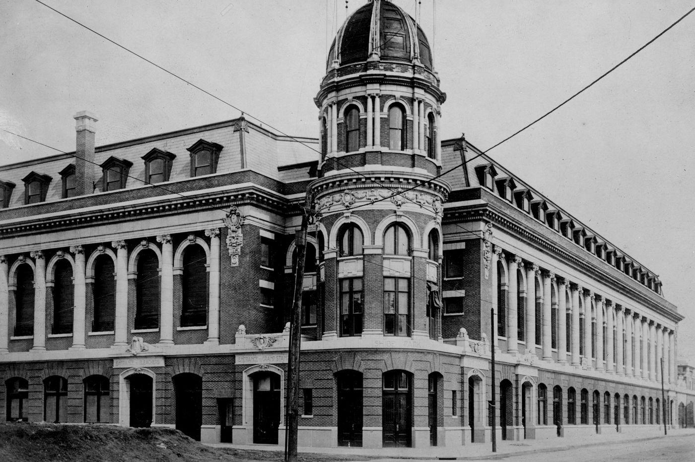 Ben Shibe once ruled Philadelphia baseball. But like the ballpark he built, his legacy has disappeared.