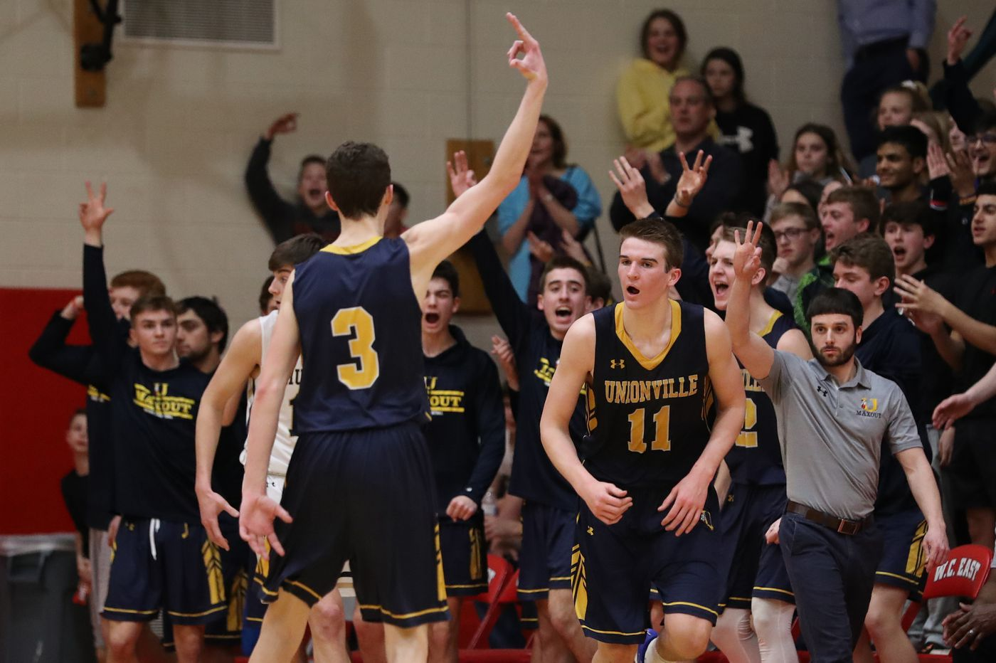 Unionville beats familiar foe West Chester Rustin to advance in PIAA Class 5A playoffs