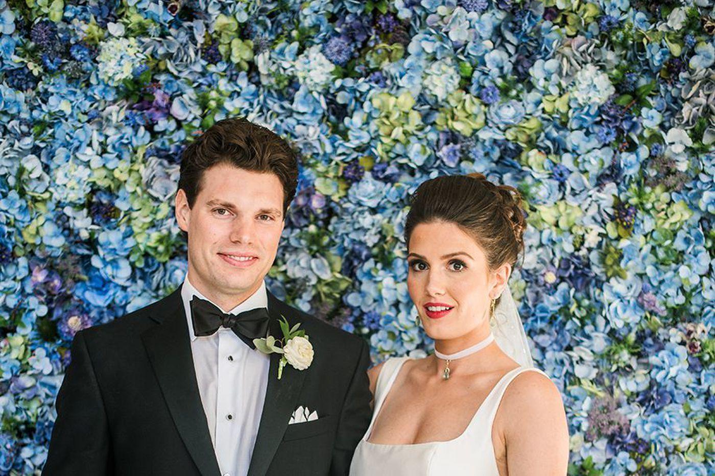 Philadelphia weddings: Kristen Kelly and Michael Moriarty Jr