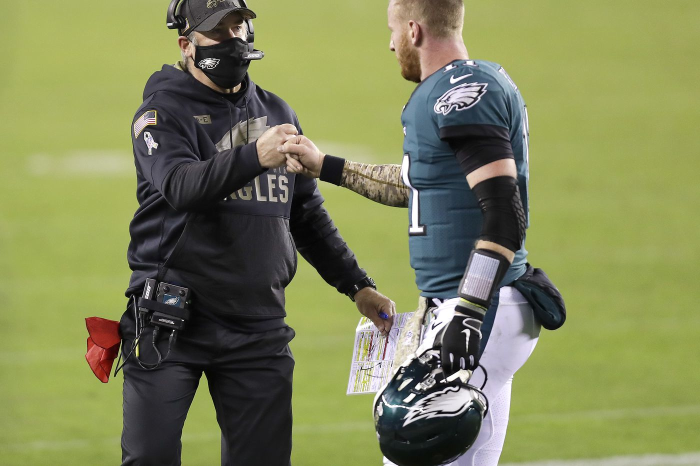 Eagles' pass offense is historically bad. So why aren't they running more? | Film analysis