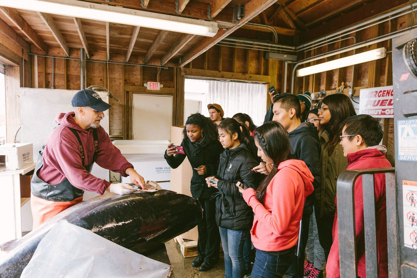 Fishadelphia and Philly high schoolers are making local seafood more accessible