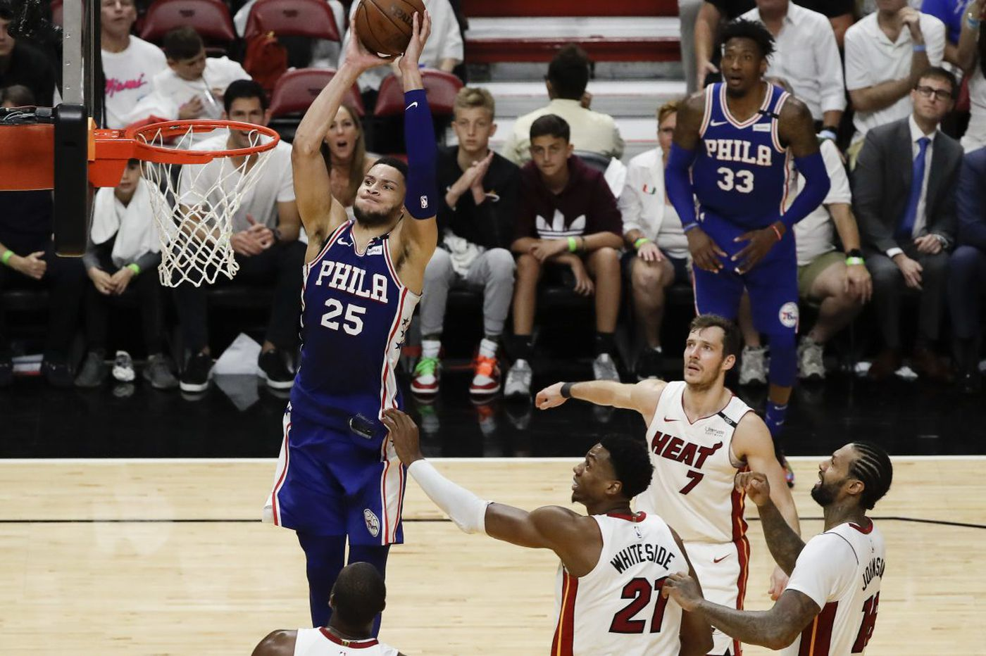 Sixers beat Heat in Game 4 behind Ben Simmons triple-double, Joel Embiid's rim protection