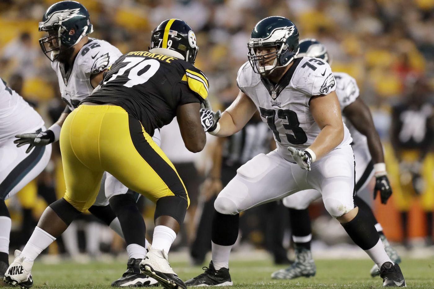 Can patched-up Eagles offense attack the Ravens?