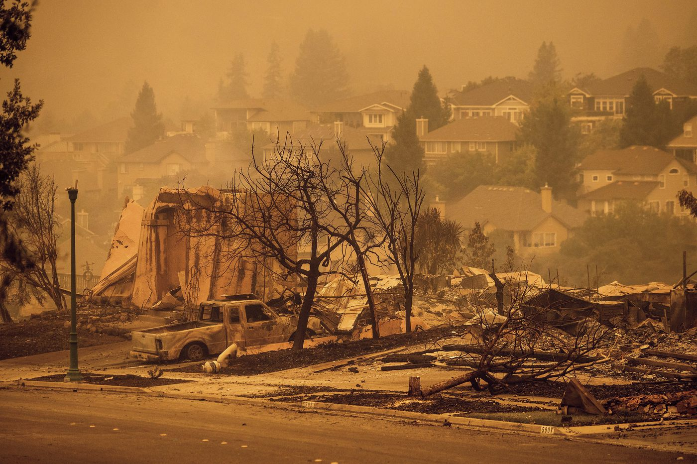 Trump administration rejects, then approves, emergency aid for California fires, including biggest blaze in state history