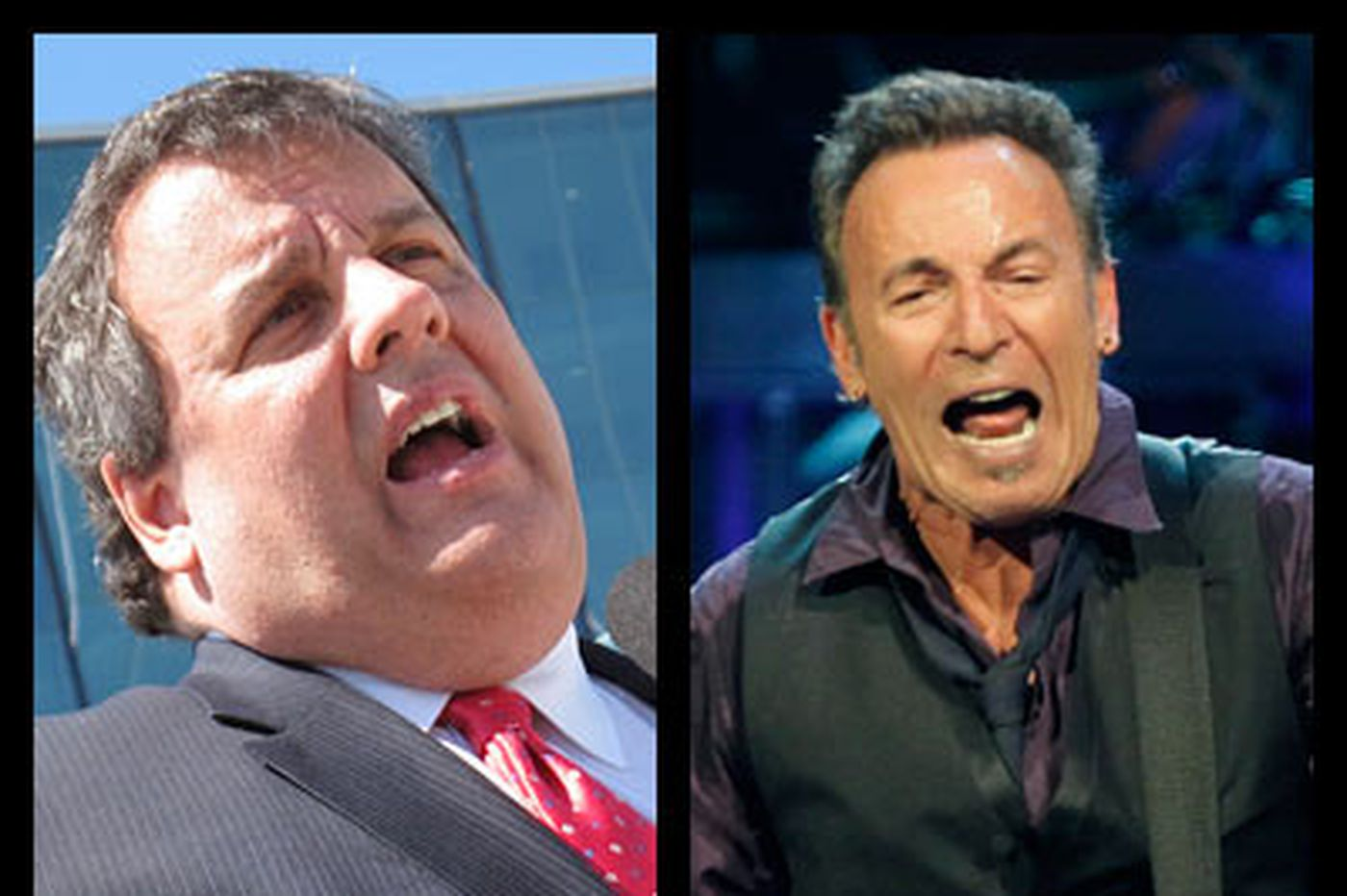 Christie says no way he was sleeping at Springsteen show